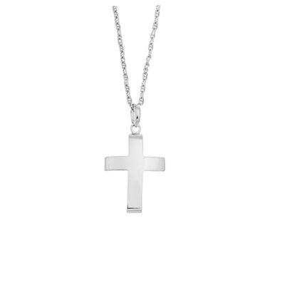 Cross, 18carat White Gold.