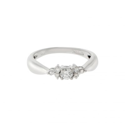 Solitaire Brilliant Cut Ring
