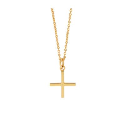 Cross Pendant, 18 carat Yellow Gold.